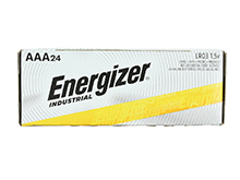Energizer Industrial EN92 (24PK) AAA 1.5V Alkaline Button Top Batteries - Box of 24