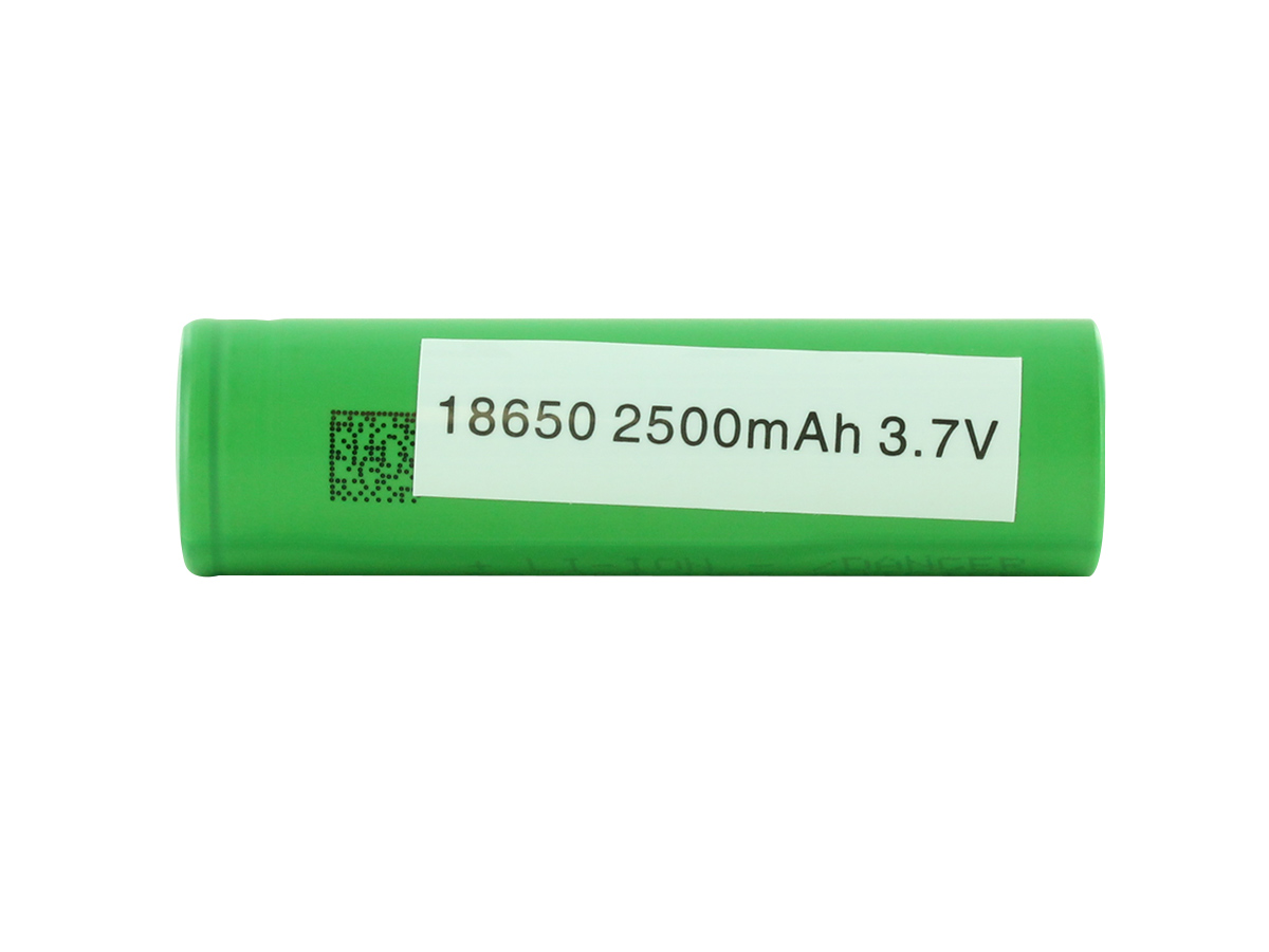 Sony VTC5A Battery View of Tailcap