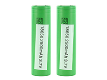 BUNDLE: 2 x Sony VTC5A NMC 18650 2500mAh 3.7V Unprotected High-Drain 35A Lithium Nickel Manganese Cobalt Oxide Flat Top Batteries