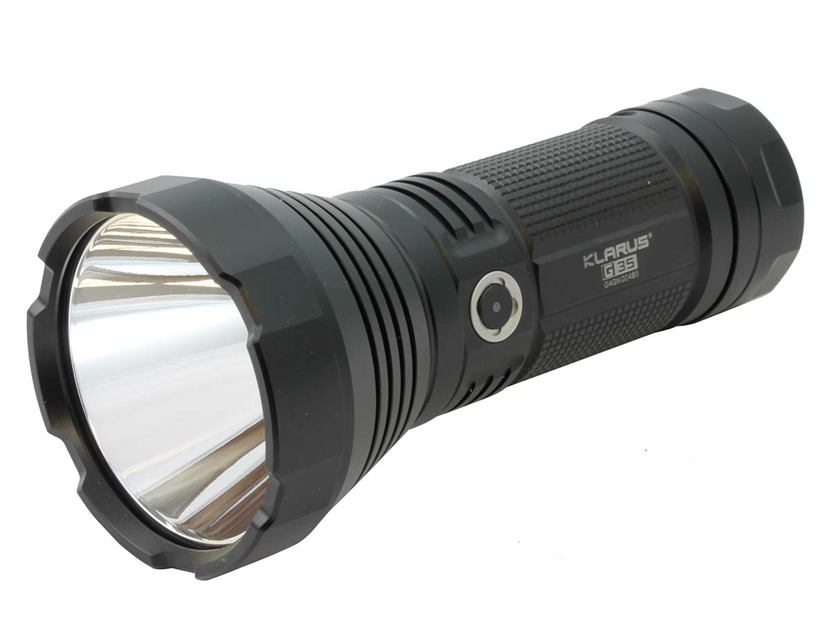 Angle Shot of the Klarus G35 Search Light