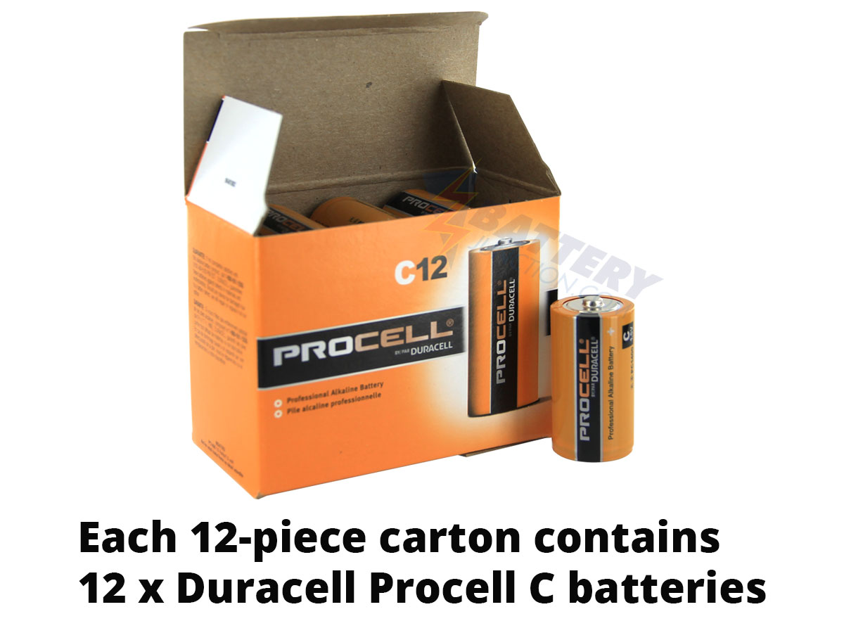 Box of 12 Batteries