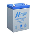 Power-Sonic AGM High Rate General Purpose PSH-1255 FR 6Ah 12V Rechargeable Sealed Lead Acid (SLA) Battery - F2 Terminal