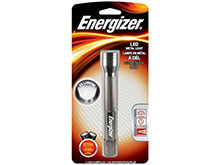 Energizer LED Metal Light - 60 Lumens - Uses 2 x AA Batteries (Included) - ENML2AAS