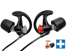 SureFire EP7 BK-LPR-BULK Sonic Defenders Ultra Ear Plugs - 28dB Noise Reduction Rating - 25 Pairs - Comes in a Variety of Colors and Sizes