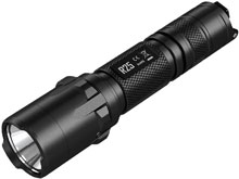 Nitecore R25 Rechargeable Tactical Flashlight with Charging Dock - CREE XP-L HI V3 LED - 800 Lumens - Uses 1 x 18650 (Included) or 2 x CR123As