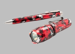 SureFire 30th Anniversary Backup Flashlight and Pen Collector Set - Limited Edition - 110 Lumens - Includes 1 x CR123A (GS-E1B-EWP01)