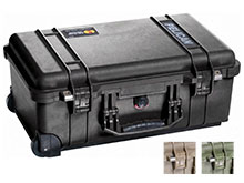 Pelican 1510 Carry-On Case with Pick & Pluck Foam - Available in Multiple Colors