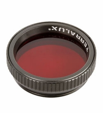 TerraLUX / Lightstar Corp. Red Flashlight Filter - Fits TT-5 and TDR-2 Flashlights (TCF-R)