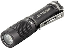 JETBeam JET-U Everyday Carry Flashlight - CREE XP-G2 LED - 135 Lumens - Uses 1 x AAA