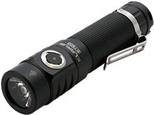 Klarus ST10 Rechargeable LED Flashlight - CREE XM-L2 U2 LED - 1100 Lumens - Uses 1 x 18650 (included) or 2 x CR123A