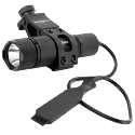 Powertac Cadet (Gen II) LED Weapon Light Kit with Offset Mount, Remote Switch - CREE XM-L2 U2 LED - 492 Lumens - Uses 1 x CR123A or 1 x 16340