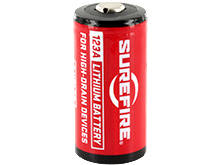 SureFire SF123A CR123A 1550mAh 3V Lithium (LiMnO2) Button Top Battery - Bulk