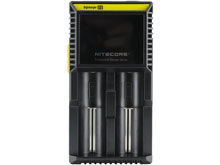 Nitecore Digicharger D2 2-Channel Smart Battery Charger for Li-ion, Ni-Cd, & NiMH Batteries