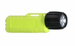 Underwater Kinetics UK3AA eLED CPO-AT Flashlight with Tail Switch - 8 Lumens - Class I Div 1 - Uses 3 x AAs - Black or Safety Yellow