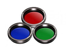 JETBeam Color Filter - 1.46 Inches - Fits JETBeam 3M Pro Flashlight - Red, Blue or Green