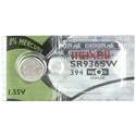 Maxell SR936SW 394 71mAh 1.55V Silver Oxide Button Cell Battery - Hologram Packaging - 1 Piece Tear Strip, Sold Individually
