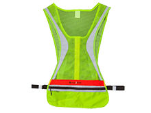 Nite Ize LED Run Vest - Red LED - Includes 2 x CR2032s - Size L/XL (LRVL-33-R8)