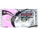 Maxell SR512SW 335 5.5mAh 1.55V Silver Oxide Button Cell Battery - Hologram Packaging - 1 Piece Tear Strip, Sold Individually