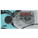 Maxell SR1136SW 344 100mAh 1.55V Silver Oxide Button Cell Battery - Hologram Packaging - 1 Piece Tear Strip, Sold Individually