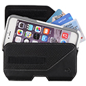 Nite Ize Clip Case Executive Leather Holster - XL or XXL - Black