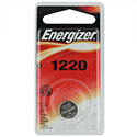 Energizer ECR1220-BP 40mAh 3V Lithium Primary (LiMNO2) Coin Cell Battery - 1 Piece Blister Pack