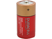 Duracell Quantum QU1400 C-cell 1.5V Alkaline Button Top Battery - Contractor Pack - Priced Per Cell