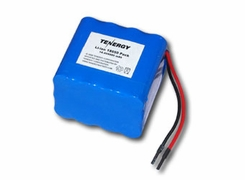 Tenergy 31026 Li-Ion 18650 14.8V 6600 mAh Rechargeable Battery Pack with PCB Protection