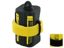 Nitecore Multi-Purpose Portable Battery Magazine - Available in Yellow, Black, Green, or Pink (NBM40)