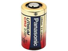Panasonic CR-2 850mAh 3V Lithium (LiMNO2) Button Top Photo Battery (DLCR2, EL1CR2) - Bulk