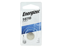 Energizer ECR1616-BP 55mAh 3V Lithium Primary (LiMNO2) Coin Cell Battery - 1 Piece Blister Pack