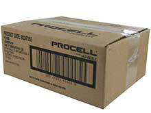 Duracell Procell PC1300 (72PK) D-cell 1.5V Alkaline Button Top Batteries - Contractor Pack of 72