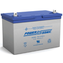 Power-Sonic AGM Deep Cycle PDC-121000 100Ah 12V Rechargeable Sealed Lead Acid (SLA) Battery - T14/U Terminal