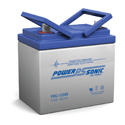 Power-Sonic AGM Deep Cycle PDC-12350 35Ah 12V Rechargeable Sealed Lead Acid (SLA) Battery - NB Terminal