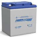 Power-Sonic AGM Deep Cycle PDC-12260H 26Ah 12V Rechargeable Sealed Lead Acid (SLA) Battery - T12/B Terminal