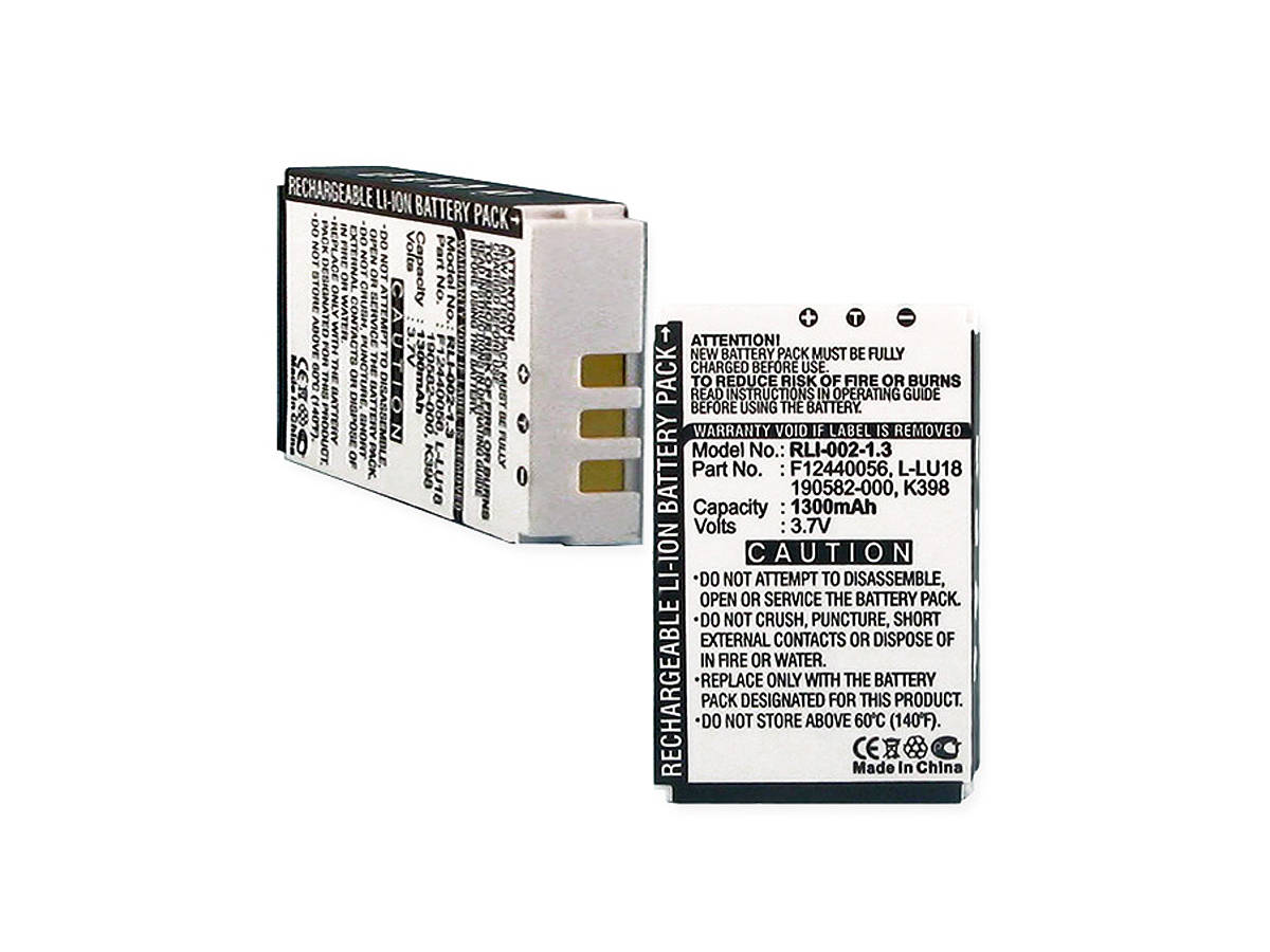 Rechargeable replacement remote battery