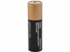 Duracell Coppertop MN1500 AA LR6 1.5V Alkaline Button Top Battery - Made in USA - Bulk