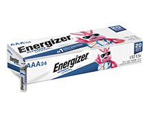 Energizer Ultimate L92 (24PK) AAA 1250mAh 1.5V High Energy 1.5A Lithium (LiFeS2) Button Top Batteries - Box of 24
