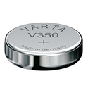 Varta 350 105mAh 1.55V Electronic Silver Oxide Coin Cell Battery (V350) - Pill Box (V20350101111)