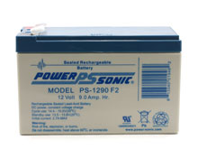 Power-Sonic AGM General Purpose PS-1290 9Ah 12V Rechargeable Sealed Lead Acid (SLA) Battery - F2 Terminal