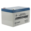 Power-Sonic AGM Deep Cycle PDC-12140 14Ah 12V Rechargeable Sealed Lead Acid (SLA) Battery - F2 Terminal