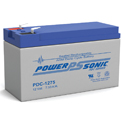 Power-Sonic AGM Deep Cycle PDC-1275 7.5Ah 12V Rechargeable Sealed Lead Acid (SLA) Battery - F2 Terminal
