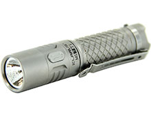 Klarus Mi7 Ti Mini-Might Titanium EDC Flashlight - CREE XP-L HI V3 LED - 700 Lumens - Use 1 x AA (Included) or 1 x 14500