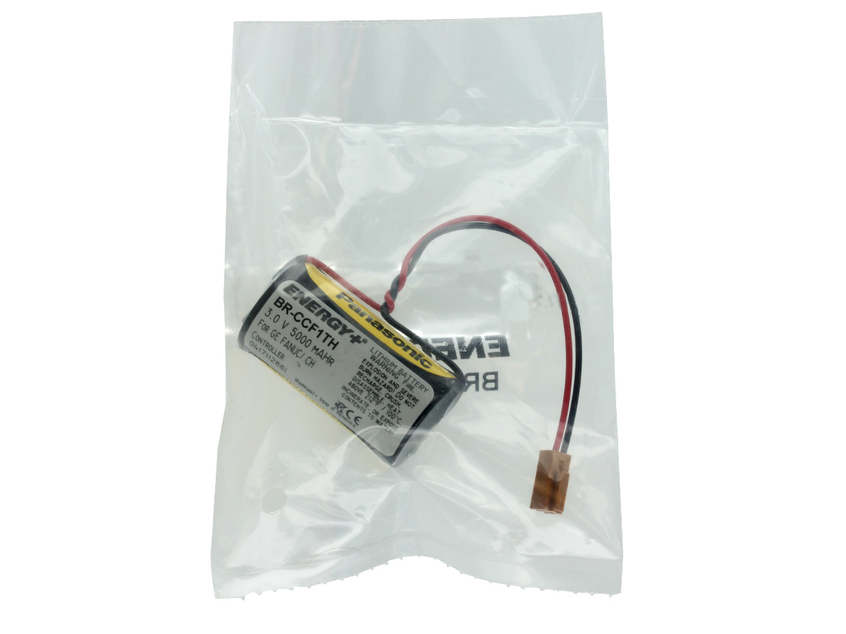 Energy+ battery in heat sealed bag front view