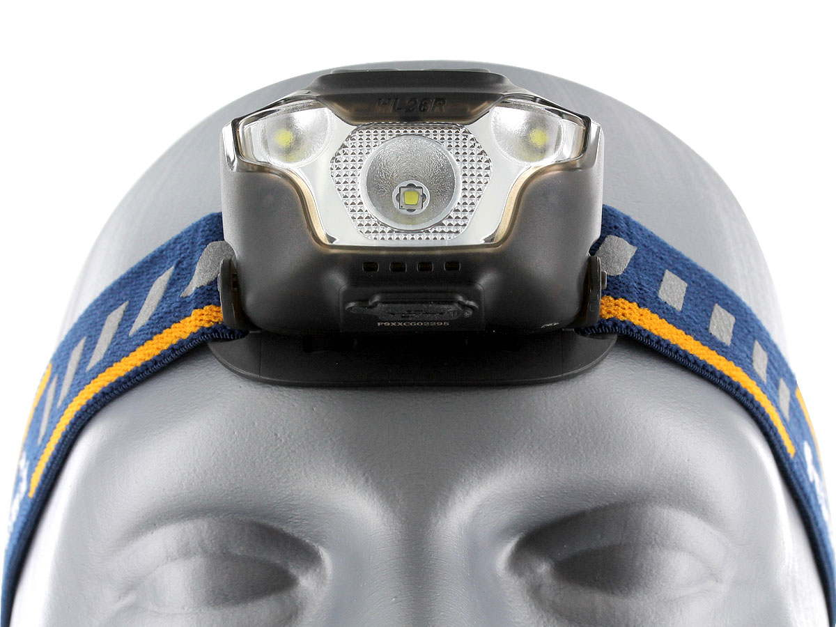 Floodlight and Spotlight Switches for the Fenix HL26R Headlamp