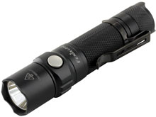 Fenix LD12 (2017) Professional Outdoor Flashlight - CREE XP-G2 R5 LED - Neutral White - 320 Lumens - Uses 1 x 14500 or 1 x AA (Included)