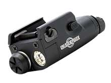 SureFire XC1-B Ultra Compact LED Pistol Light - 300 Lumens - Includes 1 x NiMh AAA Battery - Fits most Universal Rails