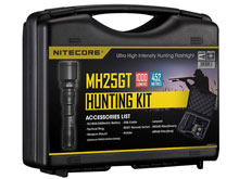 Nitecore Multitask Hybrid MH25GT Flashlight Hunting Kit with Gun Mount, RSW1 Pressure Switch, Filters and Holster - CREE XP-L HI V3 LED - 1000 Lumens - Uses 1 x 18650 (Included) or 2 x CR123A