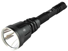Nitecore Multitask Hybrid MH40GT Rechargeable High Intensity Searchlight - CREE XP-L HI V3 LED - 1000 Lumens - Uses 2 x 18650s or 4 x CR123As