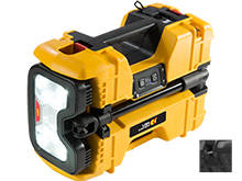 Pelican 9480 Remote Area Lighting System - 4000 Lumens - Includes Integrated 12V SLA Battery - Black or Yellow