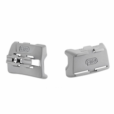 Petzl Caving Helmet Clip with Front and Back Mounting Plates - Fits Ultra Series Headlamps (E55940)